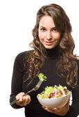 Healthy diet beauty. — Stock Photo