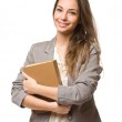 Happy young student. — Stock Photo #19374401
