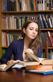 Young student studying. — Stock Photo