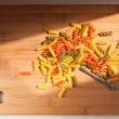 Colorful italian pasta. — Stock Photo