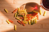 Colorful pasta. — Stock Photo