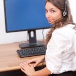 Working girl. — Stock Photo