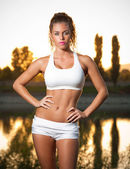 Perfect fit body. — Stock Photo