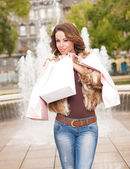 Cool shopper. — Stock Photo