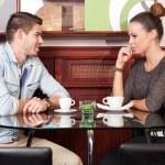 Urban dating fun. — Stock Photo