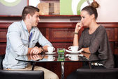 Urban dating fun. — Stock Photo