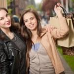 Girlfriends go shopping. — Stock Photo #45094021