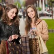 Girlfriends go shopping. — Stock Photo #45094035