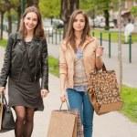 Girlfriends go shopping. — Stock Photo #45094107