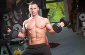Gym workout. — Стоковое фото