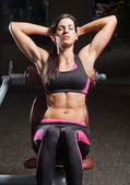 Fitness model. — Stock Photo