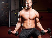 Strong and fit. — Stock Photo
