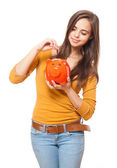 Young saver. — Stock Photo