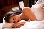 A good night's sleep. — Stock Photo