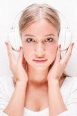 Love music. — Stock Photo
