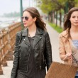 Fashionable shopping beauties. — Stock Photo #50433137