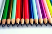 Sharpened Colorful Pencils — Stock Photo