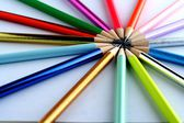 Sharpened Colorful Pencils — Photo