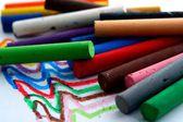 Renkli pastel — Stok fotoğraf