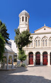 Limassol, Lemesos, Cyprus, Agia napa greek orthodox cathedral — Stock Photo