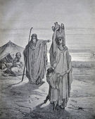 RUSSIA - CIRCA 1913: An engraving printed in Russia shows image — Stock Photo