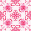 Stock Vector: Seamless pattern in pink colors