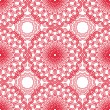 Geometric  ornament - seamless pattern - Tangier Grid, Abstract — Image vectorielle