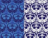 Seamless pattern - damask ornamental background — Stock Vector