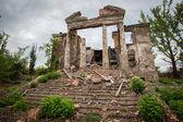 Семеновка. Славянск. После войны. июля 2014 — Стоковое фото