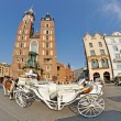 Old Town square in Krakow, Poland — Stock Photo #12847770