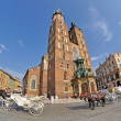 Old Town square in Krakow, Poland — Stock Photo #12847779