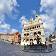 Stock Photo: Market square, Poznan, Poland