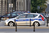 Politie patrouille — Stockfoto