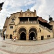 Old Town square in Krakow, Poland - Stock Photo