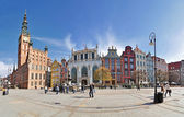 Old town of Gdansk — Stock Photo