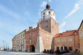 Cracow Gate in Lublin — Stock Photo
