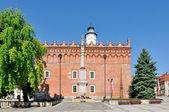 Câmara Municipal de sandomierz — Fotografia Stock