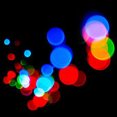 Defocused abstract lights — Stock Photo