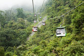 Genting Skyway cable cars — Stock Photo