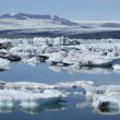 Jokulsarlon ice lagoon, Iceland. — Stock Photo
