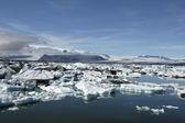 Eisberge in jokulsarlon eis lagune. — Stockfoto