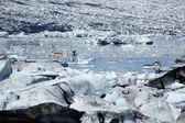 Eis-chaos, island. — Stockfoto