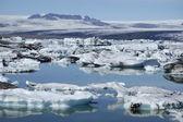 手配氷ラグーン、アイスランド. — ストック写真