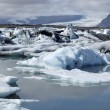 Stock Photo: Icebergs in Jokulsarlon ice lagoon.