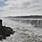 Upper Dettifoss waterfall, Iceland. — Stock Photo