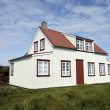 Typical Icelandic house. — Stock Photo