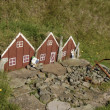 Small toy elf house in Iceland. — Stock Photo