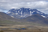 Snaefell Volcano in Iceland. — Stock Photo