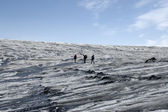 Trip on Vatnajokull glacier, Iceland — Stock Photo