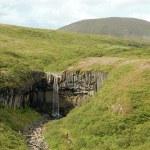 wodospad svartifoss, Islandia — Zdjęcie stockowe